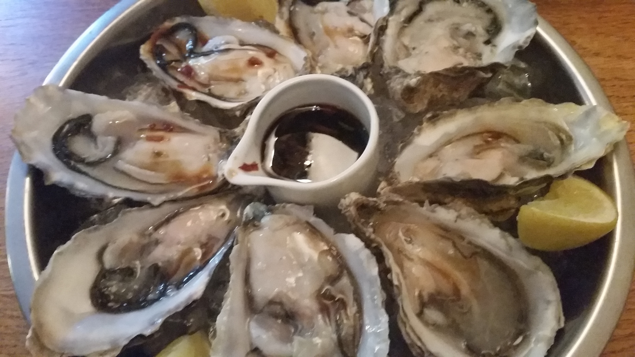 Christopher s Kitchen Valentine s Day is coming   Treat yourself! Oysters, Steak, Rocky Road!